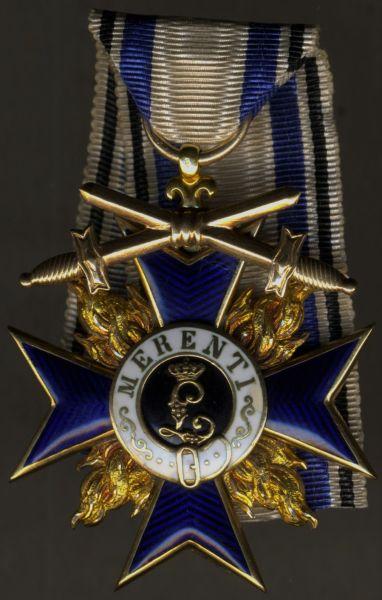 Bayern, Militär-Verdienstorden 3. Klasse mit Schwertern - Gebr. Hemmerle / München