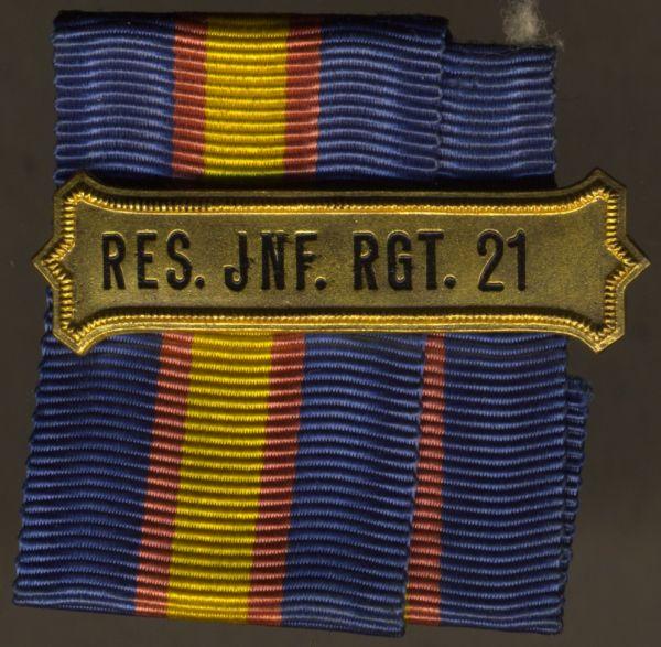 Regimentskreuz-Spange des Reserve-Infanterie-Regiments Nr. 21