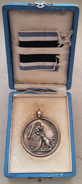 Bayern, Silberne Militär-Verdienstmedaille / Tapferkeitsmedaille mit Etui