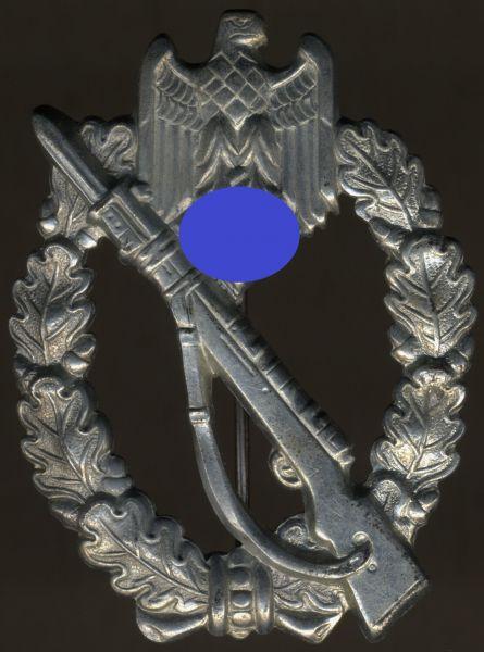 Infanterie-Sturmabzeichen in Silber - SHuCo - Eisen (!)