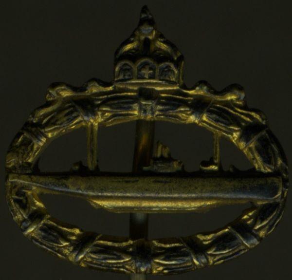 Miniatur - U-Boots-Kriegsabzeichen 1918