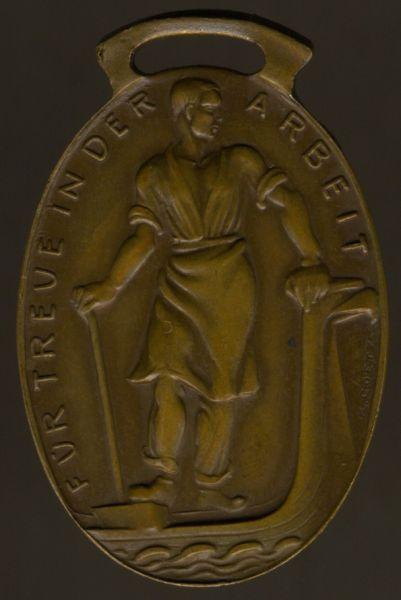Bronzene Medaille der Industrie- & Handelskammer Plauen