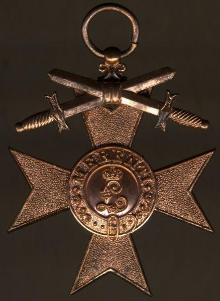 Bayern, Militär-Verdienstkreuz 3. Klasse mit Schwertern