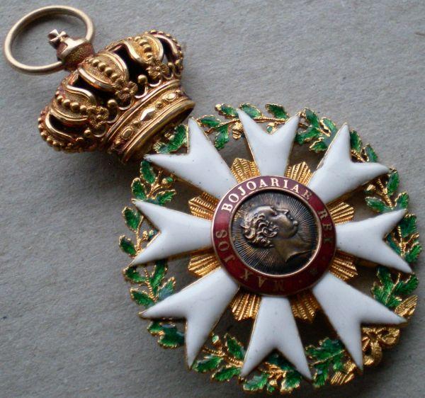 Bayern, Zivil-Verdienstorden der Bayerischen Krone Ritterkreuz