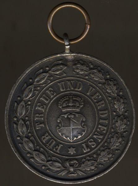 Hohenzollern, Silberne Ehrenmedaille