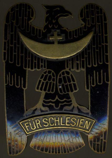 Schlesisches Bewährungsabzeichen 1. Klasse - Max Reich / Breslau