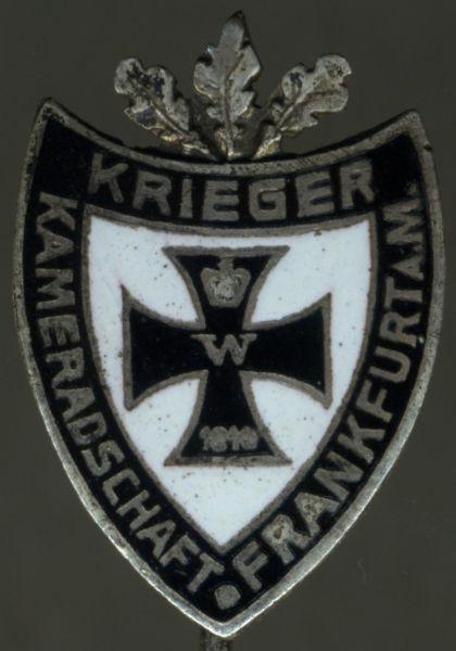 Abzeichen der Kriegerkameradschaft Frankfurt a. Main