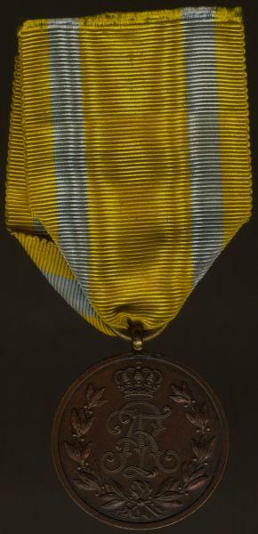 Sachsen, Friedrich August-Medaille in Bronze