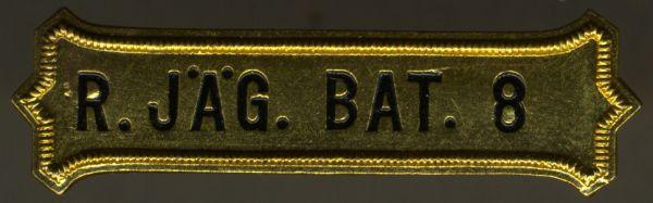 Bataillonskreuz-Spange des Reserve-Jäger-Bataillons Nr. 8