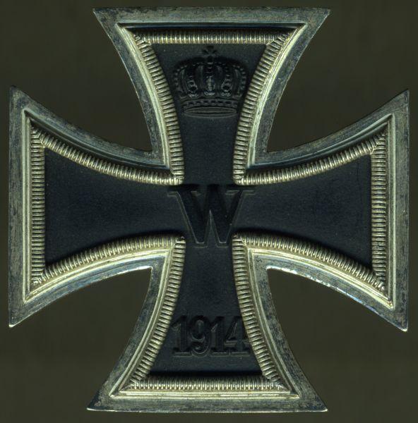 Eisernes Kreuz 1. Klasse 1914 - Steinhauer & Lück / Lüdenscheid - 3. Reich (!)