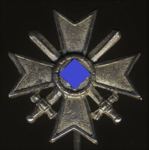 Miniatur - Kriegsverdienstkreuz 1. Klasse 1939 mit Schwertern