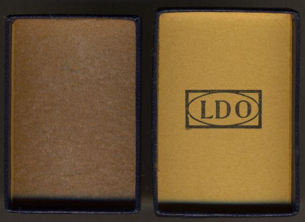 LDO-Schachtel zum Verwundetenabzeichen 1939 in Schwarz