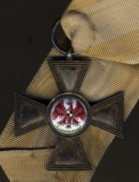 Preußen, Roter-Adler-Orden 4. Klasse - lila Adler - J.G. Hossauer / Berlin