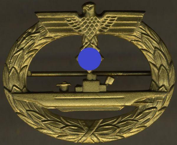 U-Boot-Kriegsabzeichen - Friedrich Orth / Wien - Prachtexemplar (!)