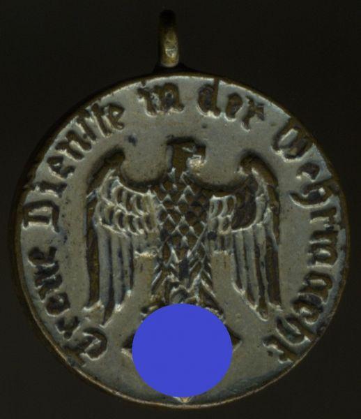 Miniatur - Wehrmacht-Dienstauszeichnung 4 Jahre
