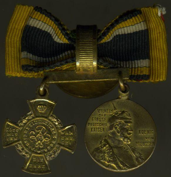 2er Knopflochdekoration 1866