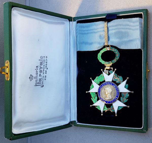 Brasilien, Nationaler Orden vom Kreuz des Südens Komturdekoration mit Etui