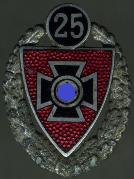 Reichskriegerbund-Ehrennadel 25 Jahre