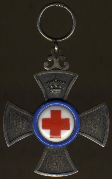 Bayern, Verdienstkreuz für freiwillige Krankenpflege - Gebr. Hemmerle / München