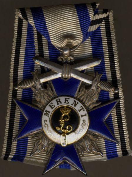 Bayern, Militär-Verdienstorden 4. Klasse mit Schwertern - Weiss & Co. / München