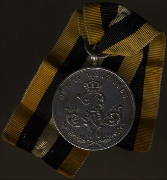 Preußen, Erinnerungs-Kriegsdenkmünze für die Nichtkämpfer von 1813–1815