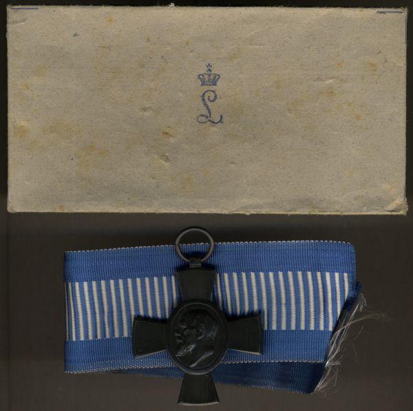 Bayern, König-Ludwig-Kreuz mit Umschlag
