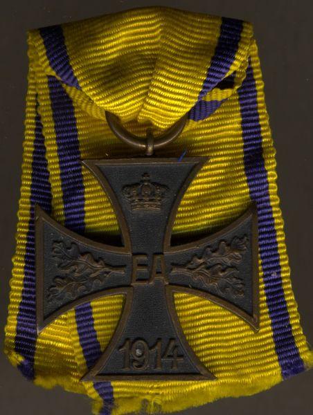 Braunschweig, Kriegsverdienstkreuz 2. Klasse für Nichtkämpfer