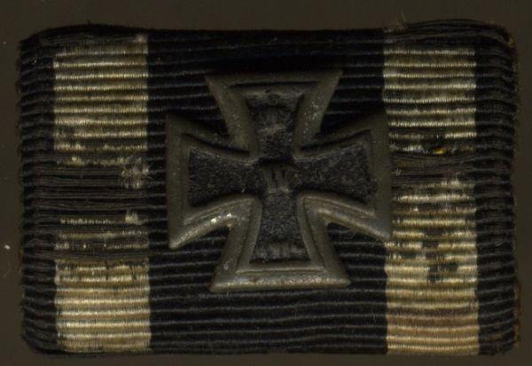 Einzelfeldschnalle - Eisernes Kreuz 1914 - Miniatur-Auflage