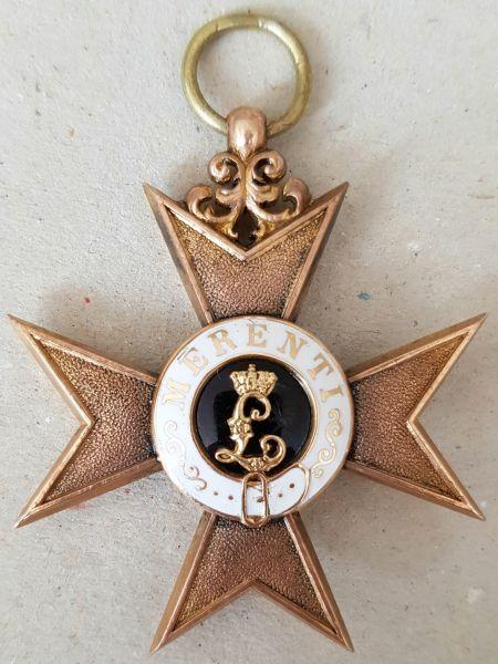 Bayern, Militär-Verdienstkreuz 1. Klasse - Weiss & Co. / München