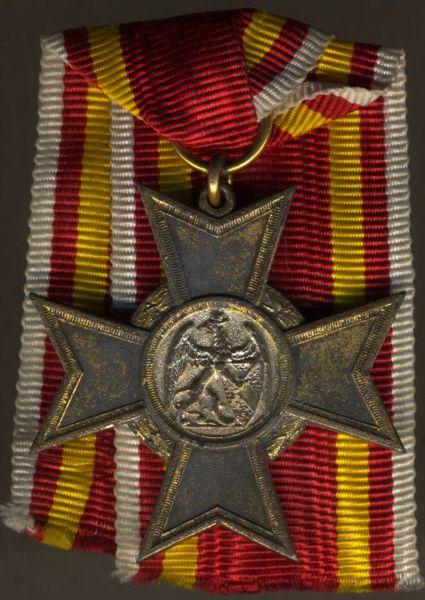Baden, Kriegsverdienstkreuz