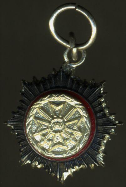 Miniatur - 1957 - Deutsches Kreuz in Silber