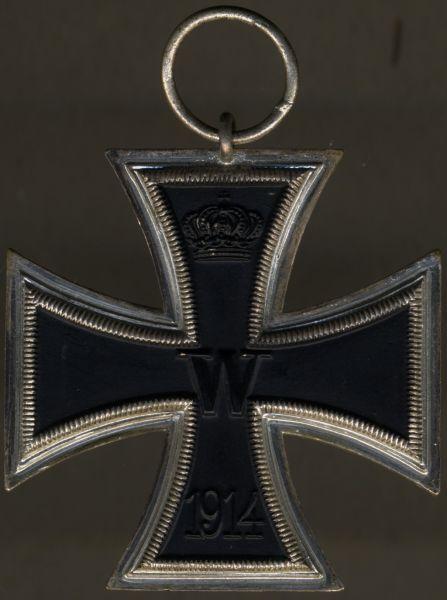 Eisernes Kreuz 2. Klasse 1914 - einteilig (!)