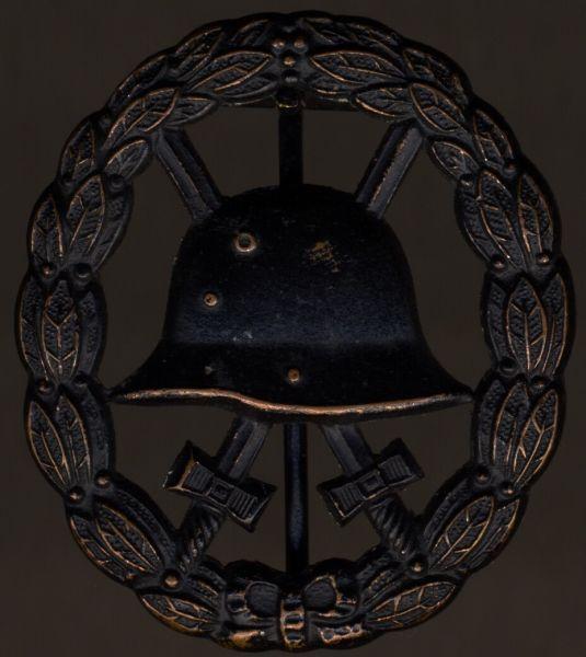 Verwundetenabzeichen 1918 in Schwarz (durchbrochen)