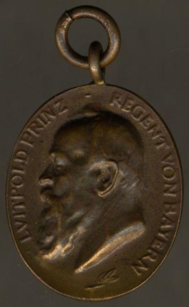 Miniatur - Bayern, Jubiläumsmedaille für die Armee