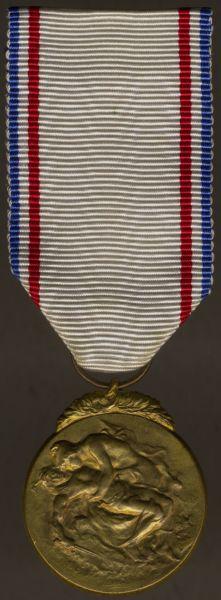 """Frankreich, Nationale Anerkennungsmedaille in Gold / """"Médaille de la Reconnaissance Française"""""""