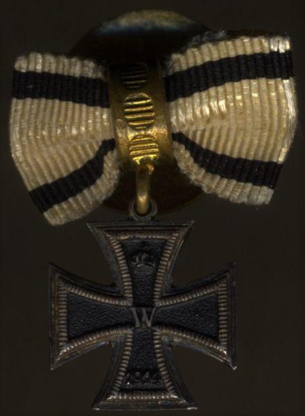 Miniaturdekoration - Eisernes Kreuz 2. Klasse 1914 für Nichtkämpfer
