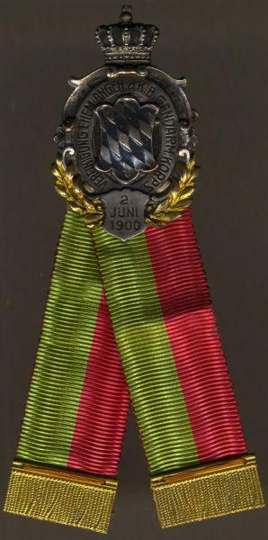 Mitgliedsabzeichen der Vereinigung ehemaliger Angehöriger des Kgl. Bay. Gendarmeriekorps