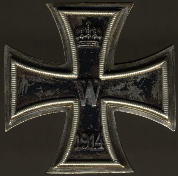 Eisernes Kreuz 1. Klasse 1914 - Klein & Quenzer / Idar-Oberstein
