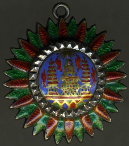 Miniatur - Thailand, Orden der Krone Thailands 1. Klasse-Stern