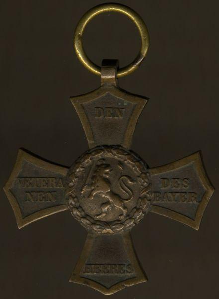 Bayern, Veteranen-Denkzeichen für die Feldzüge 1790 bis 1812