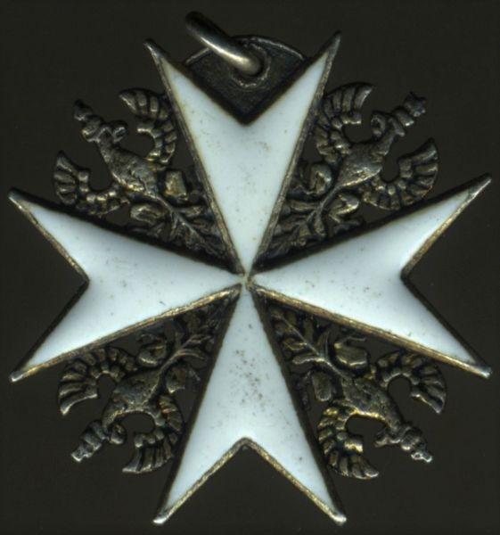 Miniatur - Preußen, Johanniterorden Ehrenritterkreuz