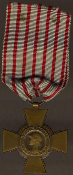 """Frankreich, """"Croix du Combattant"""""""