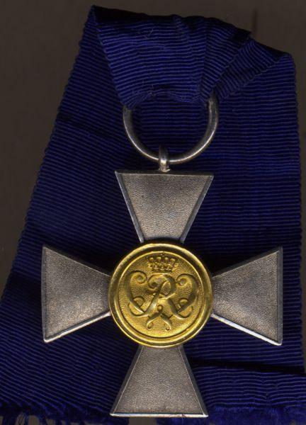 Preußen, Landwehr-Dienstauszeichnung 1. Klasse