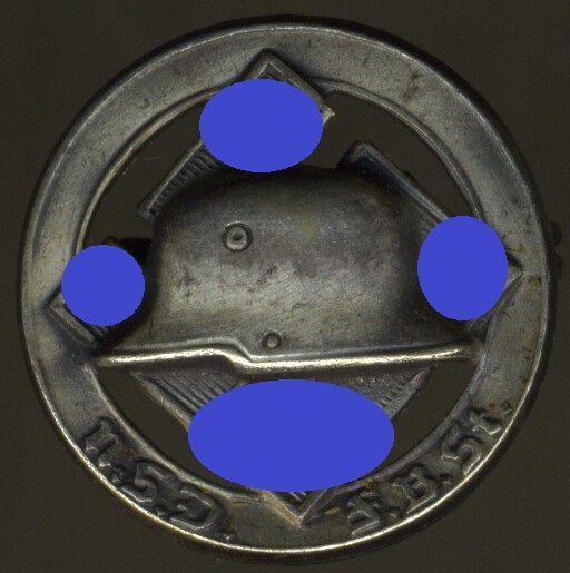 N.S.D.F.B.St.-Mitgliedsabzeichen