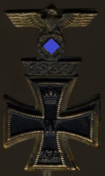 Miniatur - Eisernes Kreuz 1. Klasse 1914 mit Spange 1939