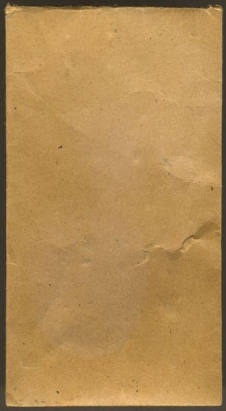 (neutrale) Tüte - Julius Maurer / Oberstein a.d. Nahe