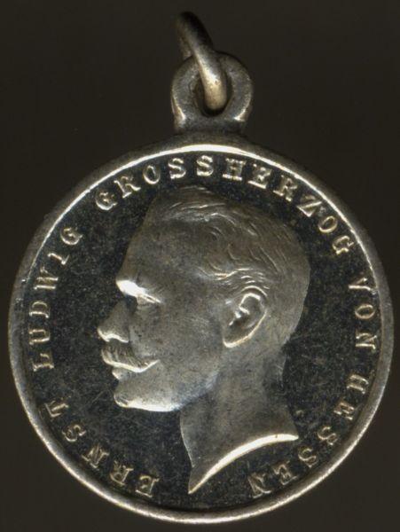 Miniatur - Hessen-Darmstadt, Allgemeines Ehrenzeichen FÜR TAPFERKEIT