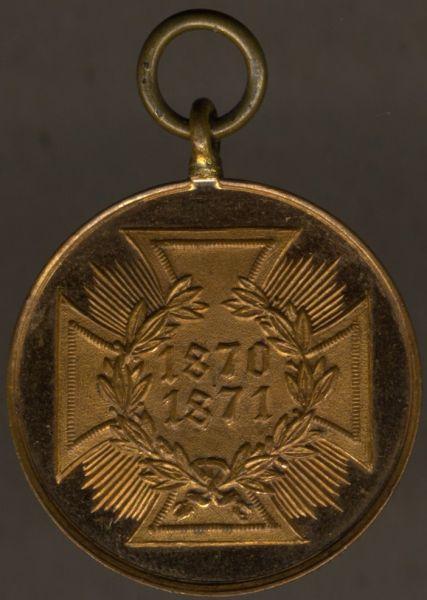 Preußen, Kriegsdenkmünze 1870/71 (Bronze)