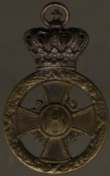 Miniatur - Sachsen-Meiningen, Kreuz für Verdienst im Kriege 1914/15