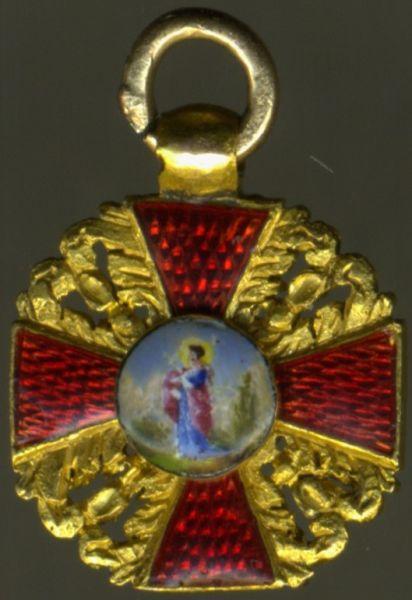Miniatur - Russland, St. Anna-Orden